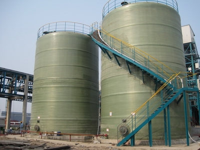 fiberglass Chemical Storage Tanks