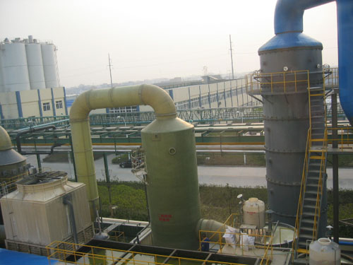 Chemical Piping Systems : Application hebei maple frp industry co ltd