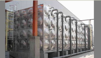 Stainless steel Sectional water stage tanks